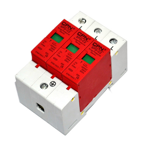 3 Pole Class 2 Surge Protection Device (DFL3SPD-3PC2)