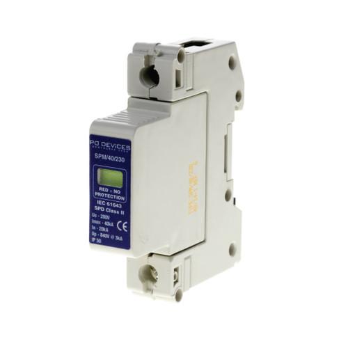 Plug in Surge Module – 40kA SP (L-N,L-E) (DFL3CPN-A1SPM)