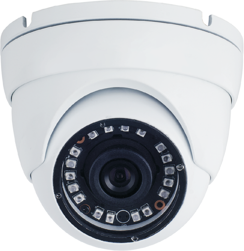 SmartVision FullHD 2.4MP 1080P AHD 2.8- 12mm Verifocal IP67 Metal Dome Camera IR Cut 20M IR WHITE