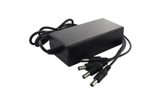 4 Way 5A 12V DC CCTV Power Supply Unit PSU with UK Plug