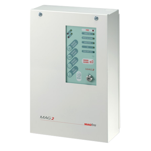 2 Zone Fire Panel - Metal Casing