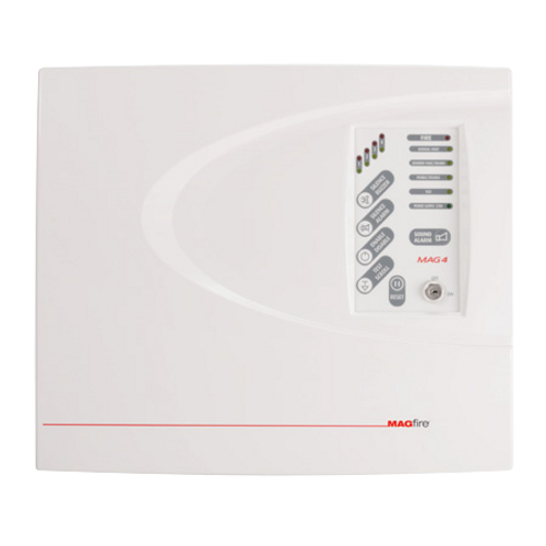 4 Zone Fire Panel - ABS Casing
