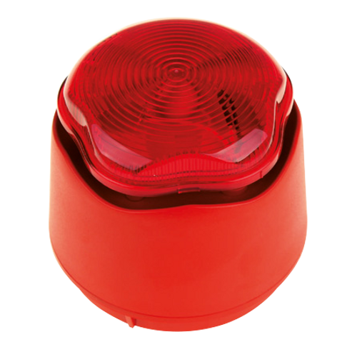Red Banshee Sounder and Strobe