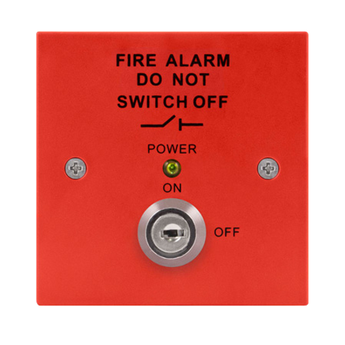 Fire Isolation Switch (Red)