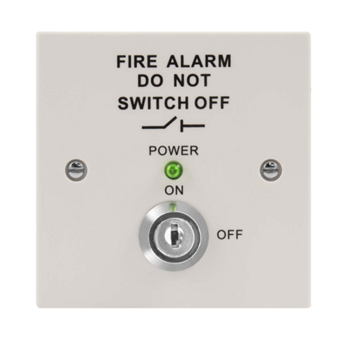 Fire Isolation Switch (White)