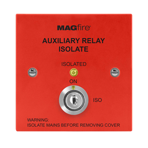 Auxiliary Isolation Switch (Red)
