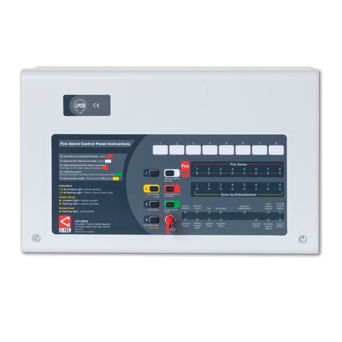 Conventional 4 Zone Fire Panel