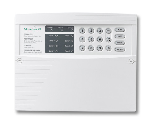 Texecom Veritas 8 - 8 Zone Control Panel