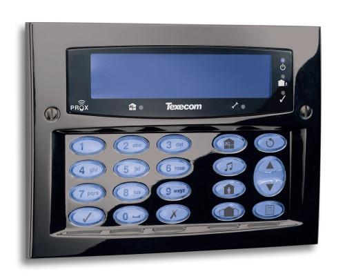 Texecom Premier Elite Flush Mount Keypad Gunmetal