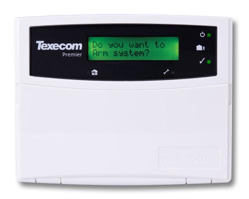 Texecom Premier LCD, Remote Keypad
