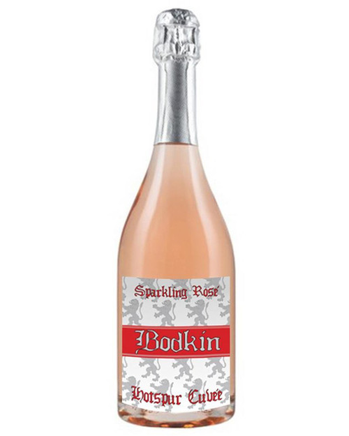 """""""Hotspur Cuvée"""" What's more fun than bubbles? Pink bubbles! Not only is the color of the wine pleasing to the eye; it's easy drinking and quaffable. The aromas of berries and citrus blossoms on the nose transfer to flavors the pallet, where you'll find them along with the additional accents of fresh baked brioche and ruby red grapefruit."""