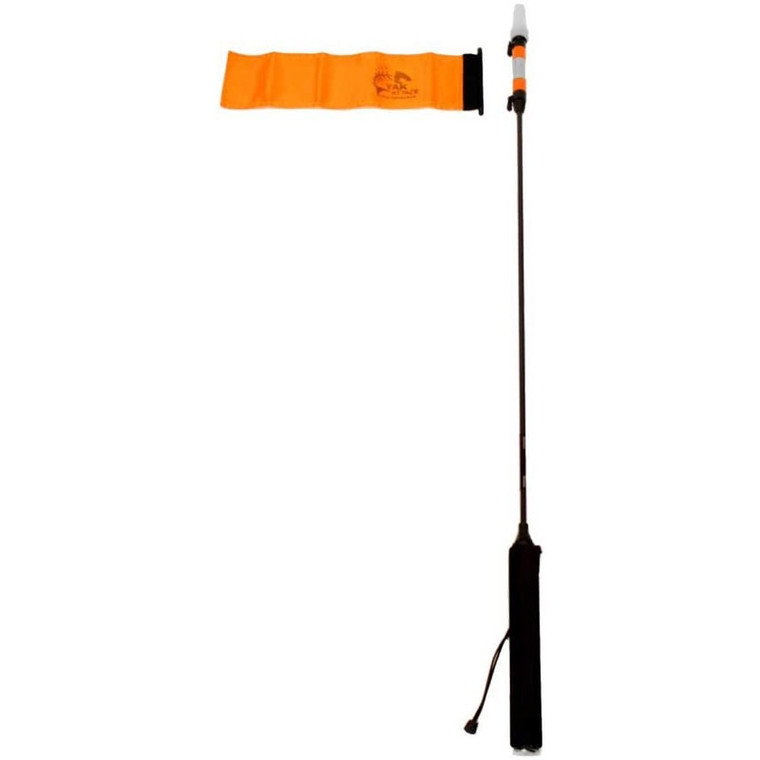 Visipole II Light, Mast, Includes Flag and Mighty Mount