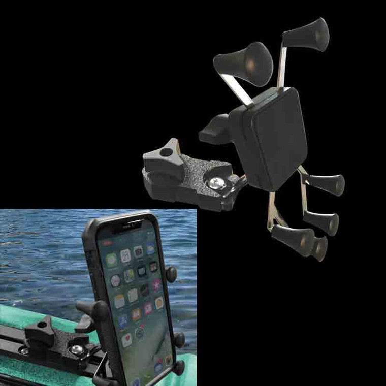 Quickgrip Cell Phone Holder Track Mount