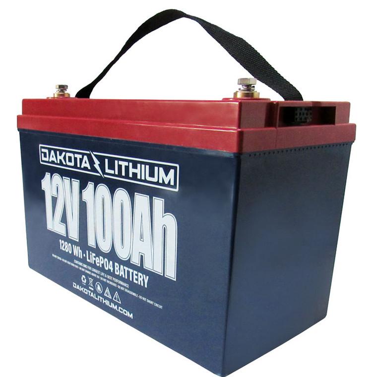 Dakota Lithium 12V 100H Battery & Charger