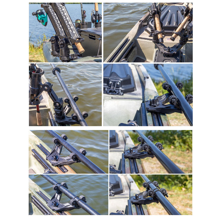 DoubleHeader with Dual RotoGrip Paddle Holders