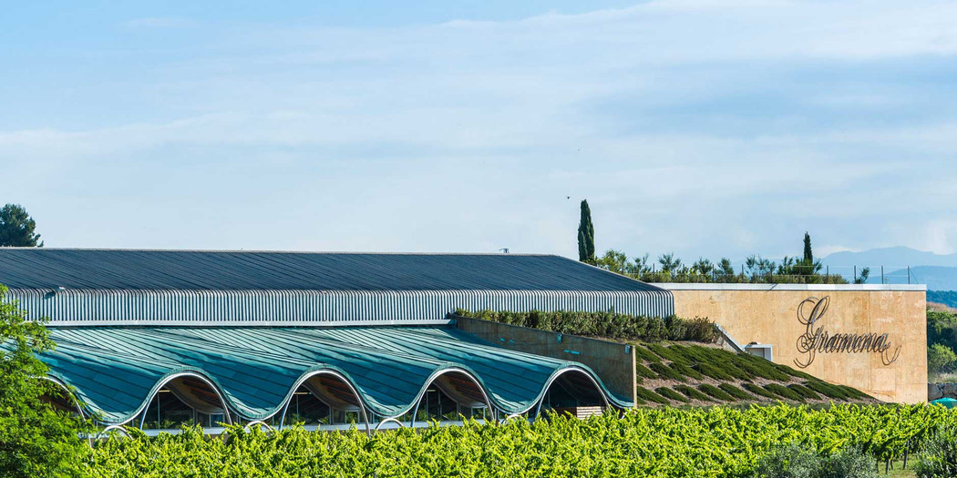 Gramona's state-of-the-art biodynamic winery