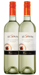 Chilean Sauvignon Blanc 6 bottle Case