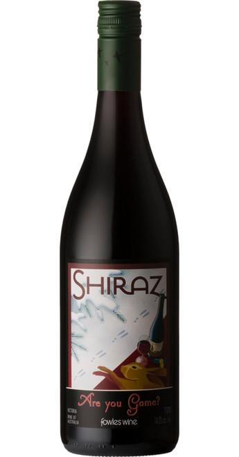 Are You Game? Shiraz, Fowles Wine 2017, Victoria, Australia