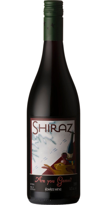 Are You Game? Shiraz 2017, Fowles Wine, Victoria, Australia