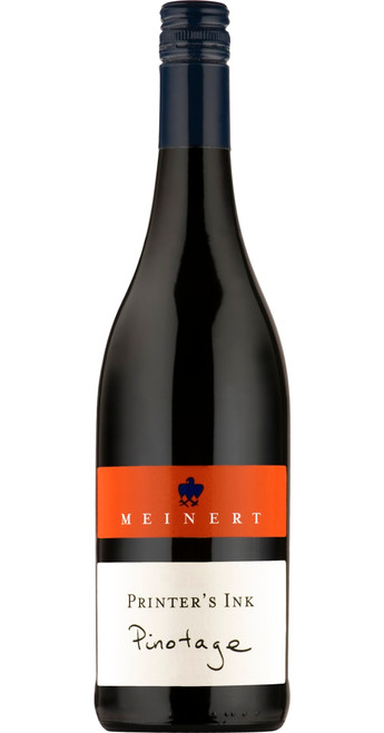 Pinotage 'Printer's Ink' 2017, Meinert