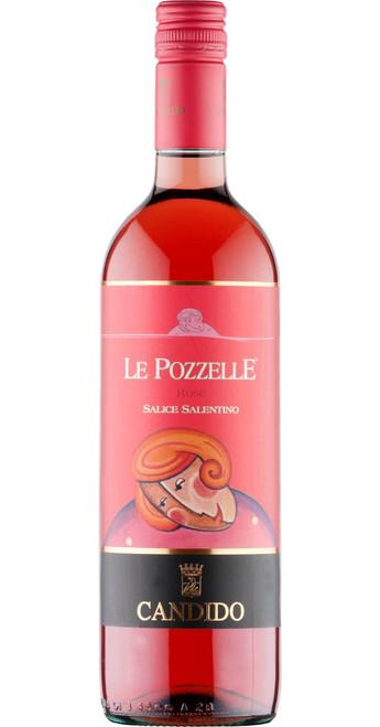 Salice Salentino Rosato Le Pozzelle 2018, Francesco Candido