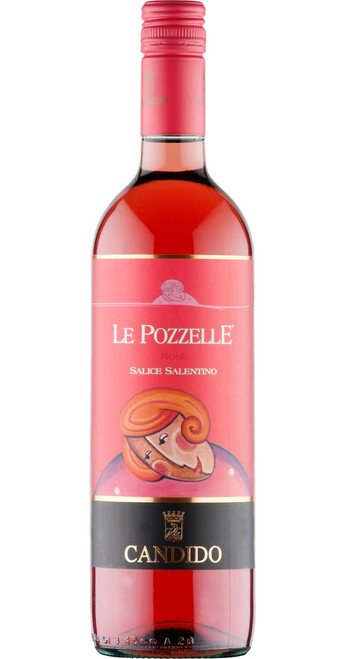 Salice Salentino Rosato Le Pozzelle 2018, Francesco Candido, Southern Italy, Italy