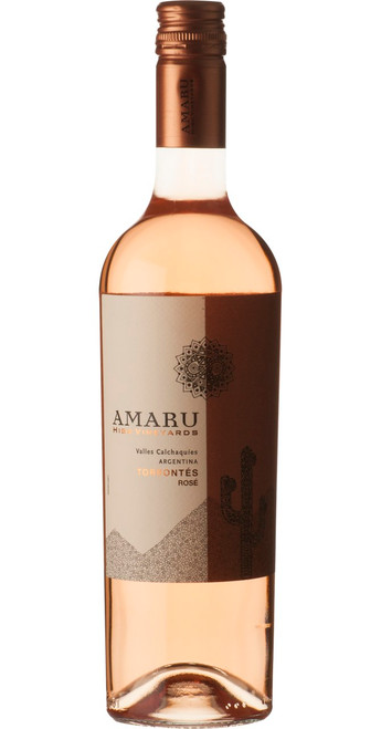 Amaru Torrontés Rosé 2019, El Esteco