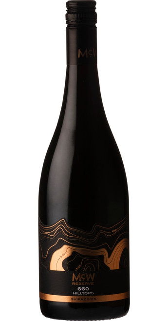 660 Reserve Shiraz 2018, McWilliams, New South Wales, Australia