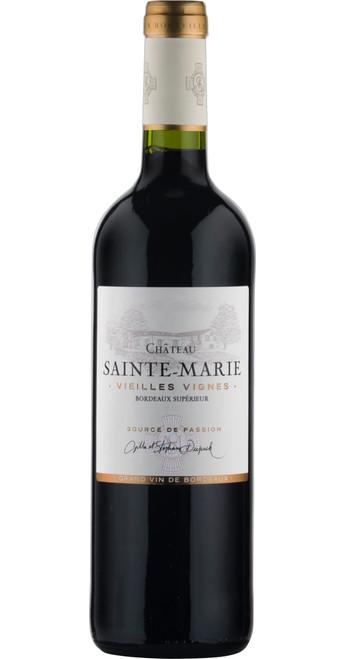 Bordeaux Supérieur 'Vieilles Vignes' 2018, Château Sainte Marie
