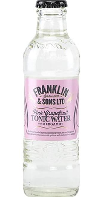 Franklin & Sons Pink Grapefruit & Bergamot Tonic Water Pack of 12