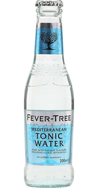Fever-Tree Mediterranean Tonic Water Pack of 12