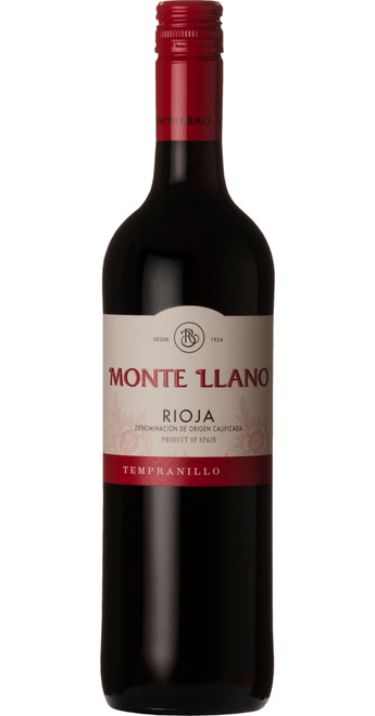 Monte Llano Tinto Rioja 2018, Ramon Bilbao