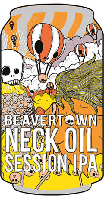 Beavertown Brewery Beavertown Neck Oil Session IPA Case of 24x330ml Pack of 24