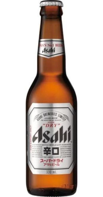 Asahi Asahi Beer Case of 24x330ml Pack of 24