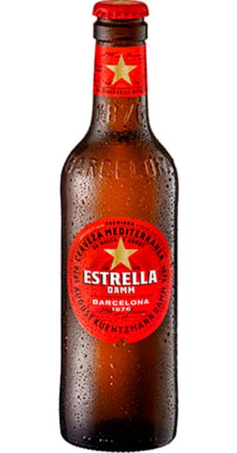 Estrella Damm Estrella Damm Barcelona Case of 24x330ml Pack of 24
