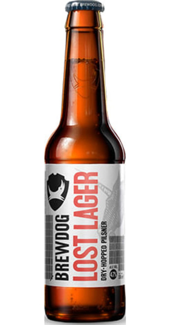 BrewDog Lost Lager Case of 12 x 330ml Pack of 12