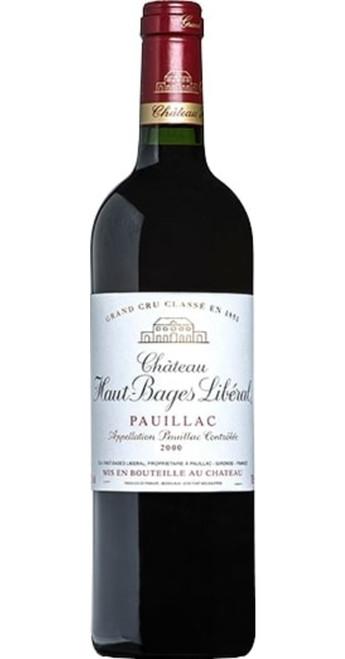 Pauillac Cru Classé 2000, Château Haut-Bages Libéral