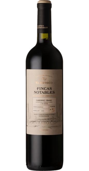 Finca Notables Cabernet Franc 2016, El Esteco