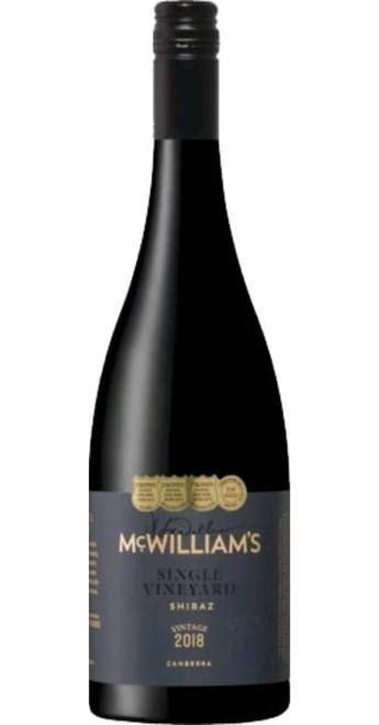 Single Vineyard Canberra Shiraz 2018, McWilliams