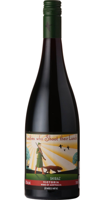 Ladies Who Shoot Their Lunch Shiraz 2017, Fowles Wine