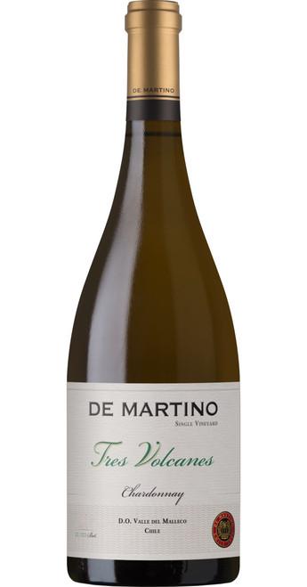 Single Vineyard Chardonnay 'Tres Volcanes' 2017, De Martino