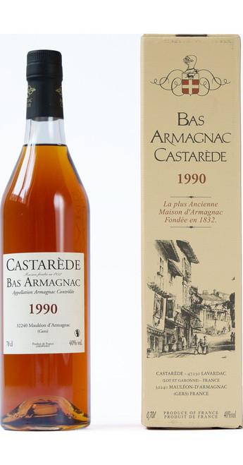 Armagnac Castarède Vintage Bas Armagnac 1990