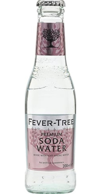 Fever-Tree Spring Soda Water 20cl Pack of 12