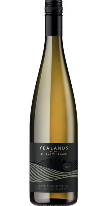 Single Vineyard Late Pick Riesling 2020, Yealands Estate