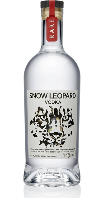 Snow Leopard Snow Leopard Rare Vodka