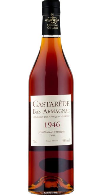 Armagnac Castarède Vintage Bas Armagnac 1946