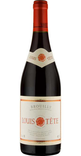 Brouilly 2018, Louis Tête, Beaujolais, France