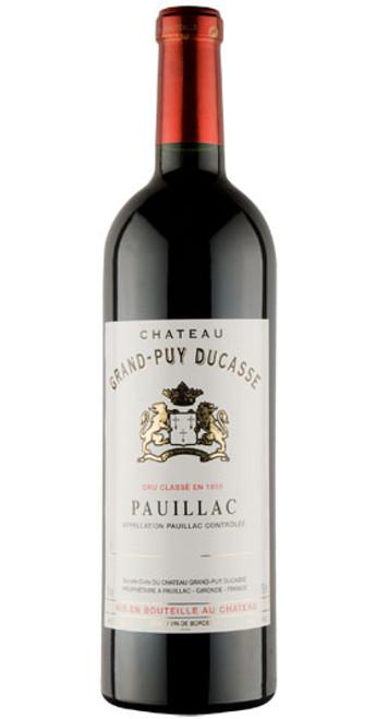 Pauillac, 5ème Cru Classé, Château Grand Puy Ducasse 2012, Bordeaux, France