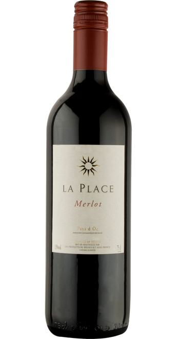 Merlot, IGP Pays d'Oc, La Place 2018, South West France, France