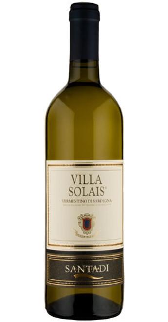 Vermentino di Sardegna, Villa Solais, Santadi 2018, Sicily & Sardinia, Italy